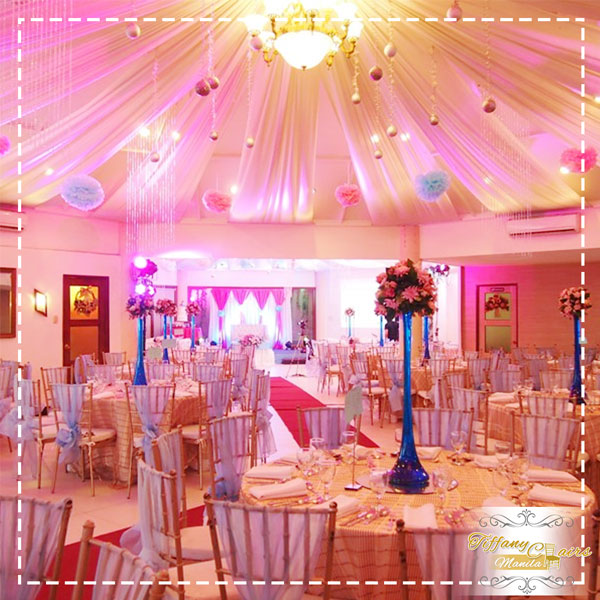 Top 50 Wedding Venues In Manila Tiffany Chairs Rental
