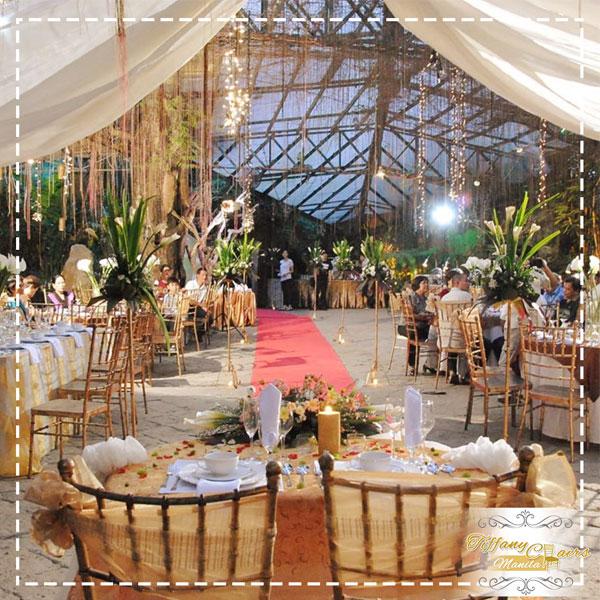 Top 50 Wedding Venues In Manila Tiffany Chairs Rental Manila