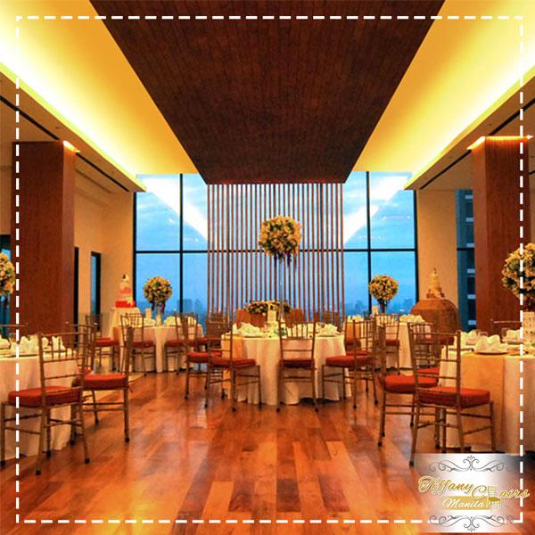 Top 50 Wedding Venues in Manila - Tiffany Chairs Rental